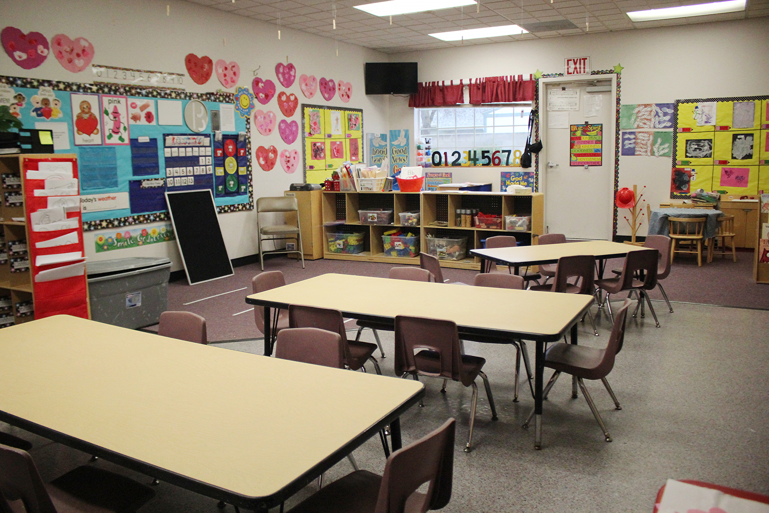 Crosscity preschool 3 year old classroom